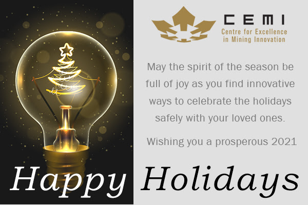 Happy Holiday's from CEMI