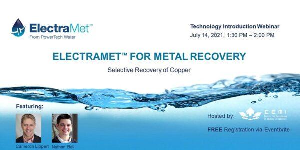 Electramet for metal recovery